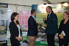 Cow Call And Simon Coveney at National Ploughing Championships, at Ratheniska, Co. Laois.