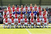 Fotball<br /> Nederland<br /> Foto: ProShots/Digitalsport<br /> NORWAY ONLY<br /> <br /> Ajax - 14-06-2008 , selectie team foto , Boven: Luque, Delorge, Colin, Rommedahl, Donald, Vertonghen, van der Heijden, Martina <br /> 2e rij: Kennedy, de Jong, Wormhoudt, Witschge, van Basten, van 't Schip, L'Ami, Ogararu, Schilder <br /> 3e rij: Anita, Silva, Sarpong, Vermeer, Emanuelson, Gentenaar, Vermaelen, Slijngard, Leonardo <br /> Onder: Sulejmani, Cvitanich, van der Wiel, Perez, Gabri, Suarez, Lindgren <br /> <br /> Lagbilde Ajax
