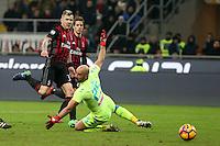 c - Milano - 21.01.2017 - Serie A 21a giornata  -  Milan-Napoli   - nella foto:  Juraj Kucka segna il gol dell ' 1 a 2