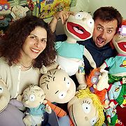 Arlene Klasky and Gabor Csupo are the creators of hit shows such as Rugrats and The Wild Thornberries on Nickelodeon.