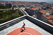 Four Seasons Hotel Ritz - rooftop running track