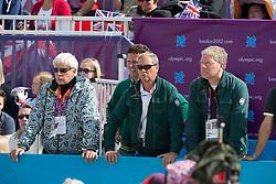 Team Saudi Arabia: Schockemohle Paul (GER), Van Paesschen Stanny (BEL), Van Iersel Rogier (BEL)<br /> Olympic Games London 2012<br /> © Dirk Caremans