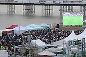 Brighton Big Screen Event England v Russia 110616