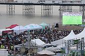 Brighton Big Screen Event England v Russia 110616