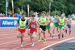 KACAR Hasan Huseyin, Guide CAKIR Muhammet Ugur, 2014 IPC European Athletics Championships, Swansea, Wales, United Kingdom