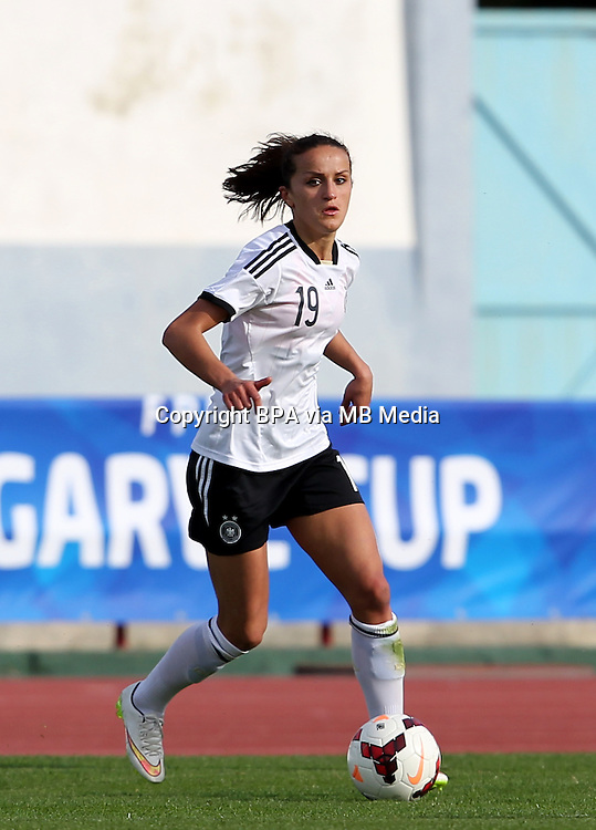 Fifa Womans World Cup Canada 2015 - Preview //<br /> Algarve Cup 2015 Tournament ( Vila Real San Antonio Sport Complex - Portugal ) - <br /> Germany vs Sweden 2-4   -  Fatmire Alushi of Germany