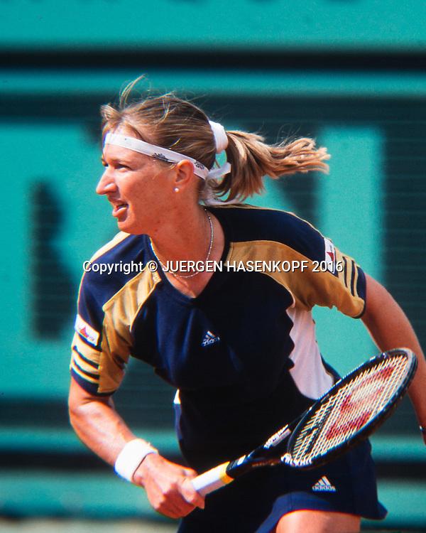 Steffi Graf (GER), Roland Garros, French Open 1999<br /> <br /> Tennis - French Open 1999 - Grand Slam ATP / WTA -  Roland Garros - Paris -  - France  - 6 December 2016.