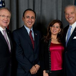 Harry Reid and Joe Biden at the GSR (042109)
