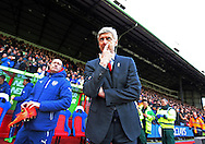 Arsenal's Arsene Wenger look on<br /> <br /> Barclays Premier League - Crystal Palace  vs Arsenal  - Selhurst Park - England - 21st February 2015 - Picture David Klein/Sportimage