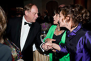 ANTHONY HOLDEN; CLAIRE BLOOM;ZOE WANNAMAKER, 56th London Evening Standard Theatre Awards. Savoy Hotel. London. 28 November 2010.  -DO NOT ARCHIVE-© Copyright Photograph by Dafydd Jones. 248 Clapham Rd. London SW9 0PZ. Tel 0207 820 0771. www.dafjones.com.