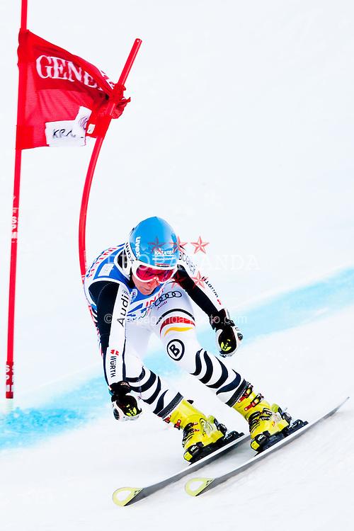 21.01.2012, Podkorn, Kranjska Gora, SLO, FIS Weltcup Ski Alpin, Kranjska Gora, Damen, Riesentorlauf, 2. Durchgang, im Bild Veronique Hronek of Germany during 2nd Run of 48th Golden Fox Audi Alpine FIS Ski World Cup Ladies Giant Slalom, on January 21, 2012 in Podkorn, Kranjska Gora, Slovenia. EXPA Pictures © 2012, PhotoCredit: EXPA/ Sportida/ Matic Klansek Velej..***** ATTENTION - OUT OF SLO *****