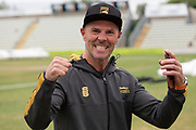 Head Coach Paul Nixon at the end of the Bob Willis Trophy match between Lancashire County Cricket Club and Leicestershire County Cricket Club at Blackfinch New Road, Worcester, United Kingdom on 4 August 2020.
