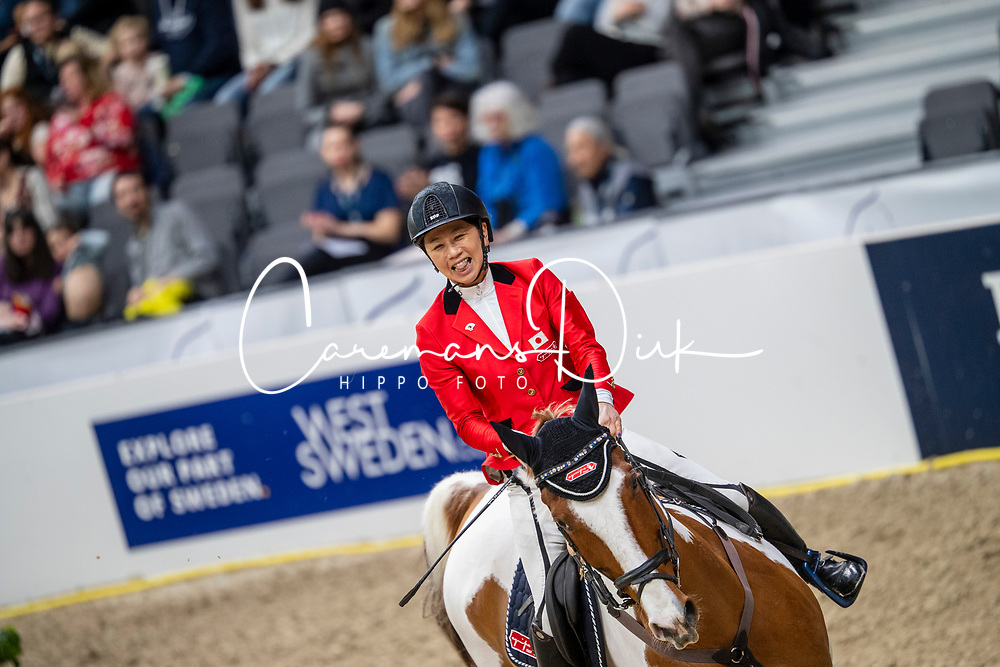 Hirota Shino, JPN, Life is Beautiful<br /> LONGINES FEI World Cup™ Finals Gothenburg 2019<br /> © Dirk Caremans<br /> 04/04/2019