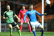 Ollie Rathbone during the EFL Sky Bet League 1 match between Rochdale and Plymouth Argyle at Spotland, Rochdale, England on 24 April 2018. Picture by Daniel Youngs.
