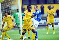 Fotball<br /> Norge<br /> 20.05.2014<br /> Bodø/Glimt v Start<br /> Foto: Kent Even Grundstad, Digitalsport<br /> <br /> Papa Alioune Ndiaye BADOU - BG