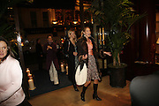 Andrea Bergh, Donata Korzen and Heidi Bishop. Elizabeth Saltzman, Tracey Emin and Charles Finch cocktails in support of Dream Auction Full stop in aid of NSPCC. Ralph Lauren. 21 March 2006. ONE TIME USE ONLY - DO NOT ARCHIVE  © Copyright Photograph by Dafydd Jones 66 Stockwell Park Rd. London SW9 0DA Tel 020 7733 0108 www.dafjones.com