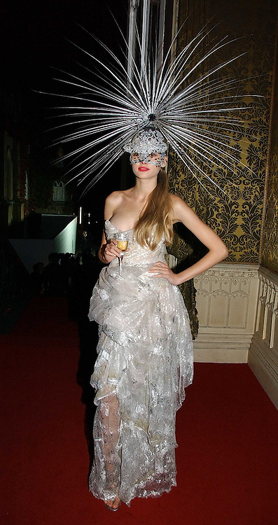 TETYANA PISKUN at the 2006 Moet & Chandon Fashion Tribute in honour of photographer Nick Knight, held at Strawberry Hill House, Twickenham, Middlesex on 24th October 2006.<br />