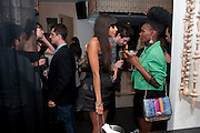 JAMEELA JAMIL; SHINGAI SHONIWA, Esquire dinner celebrating being Brilliant, Young and British hosted by editor Jeremy Langmead at Aqua Nueva, Fifth Floor, 240 Regent Street , London 1 June 2010. -DO NOT ARCHIVE-© Copyright Photograph by Dafydd Jones. 248 Clapham Rd. London SW9 0PZ. Tel 0207 820 0771. www.dafjones.com.