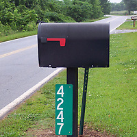 (Courtesy Photo)<br /> Mailboxes often are not numbered and reflective house numbers, easily seen from the road, allow ambulance and fire fighters to quickly find a home in the event of an emergency.