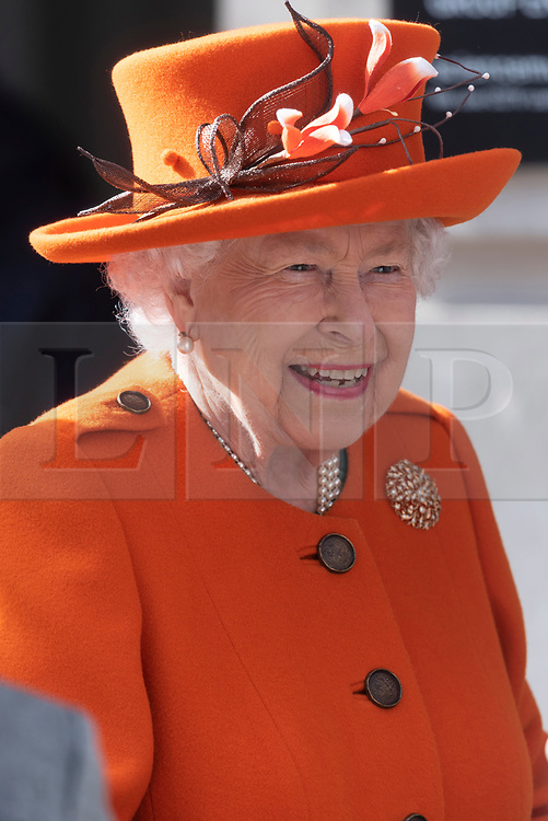 © Licensed to London News Pictures. 07/03/2019. London, UK. Queen Elizabeth II visits The Science Museum to announce its Summer exhibition, Top Secret and unveil a new space for supporters, to be known as Smith Centre. Photo credit: Ray Tang/LNP
