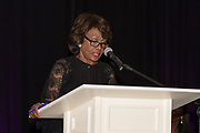 U.S. Congresswoman Maxine Waters speaks at a banquet at The Sheridan in Charlotte, NC, Saturday evening. The event, titled Reclaiming My Time, was sponsored by the Black Political  Caucus of Charlotte.