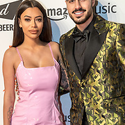 NLD/Amsterdam/20191028 - MTV Pre Party in Amsterdam, Yasmine Pierards and Renan Hellemans