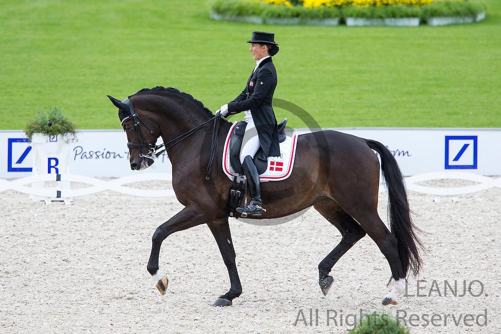 Mikala Munter Gundersen - My Lady<br /> FEI European Championships Aachen 2015<br /> &copy; DigiShots