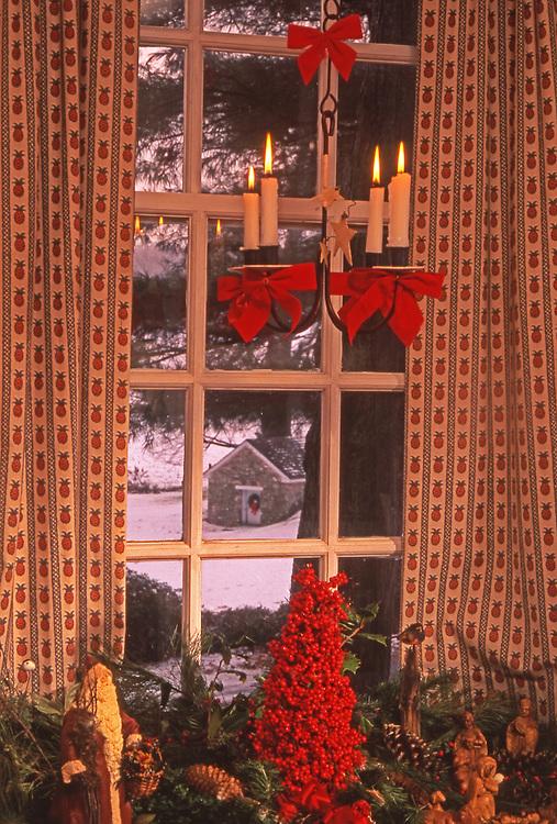 Christmas, 1812 Chester Co., historic private farmhouse