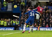 Football - 2019 / 2020 Premier League - Chelsea vs. Manchester United<br /> <br /> <br /> at Stamford Bridge <br /> <br /> COLORSPORT/DANIEL BEARHAM