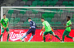 Rifet Kapic of Gorica scoring first goal for Gorica during football match between NK Olimpija Ljubljana and ND Gorica in Round #26 of Prva liga Telekom Slovenije 2016/17, on March 29, 2017 in SRC Stozice, Ljubljana, Slovenia. Photo by Vid Ponikvar / Sportida