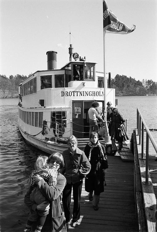 Ångslupen S/S Drottningholm