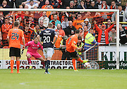 Dundee United's Nadir Çiftçi scores the second from the penalty spot  - Dundee United v Dundee at Tannadice Park in the SPFL Premiership<br /> <br />  - © David Young - www.davidyoungphoto.co.uk - email: davidyoungphoto@gmail.com