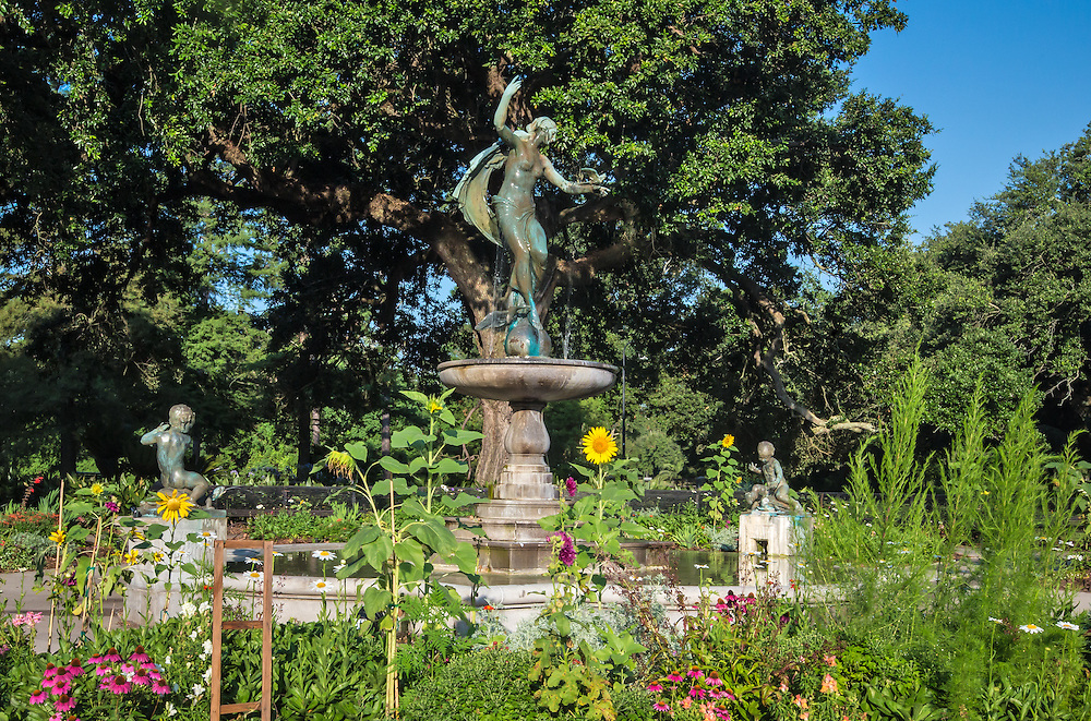 Audobon Park, across from Tulane, one of New Orleans toursit attractions