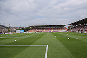 St James Park during the Sky Bet League 2 match between Exeter City and York City at St James' Park, Exeter, England on 22 August 2015. Photo by Simon Davies.