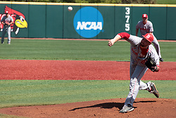 05 May 2018:  Mitch Janssen during an NCAA Division I Baseball game between the Bradley Braves and the Illinois State Redbirds in Duffy Bass Field, Normal IL