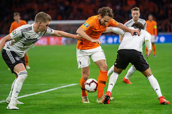 24-03-2019 NED: UEFA Euro 2020 qualification Netherlands - Germany, Amsterdam<br /> Netherlands lost the match 3-2 in the last minute / Matthias Ginter #4 of Germany, Daley Blind #17 of The Netherlands