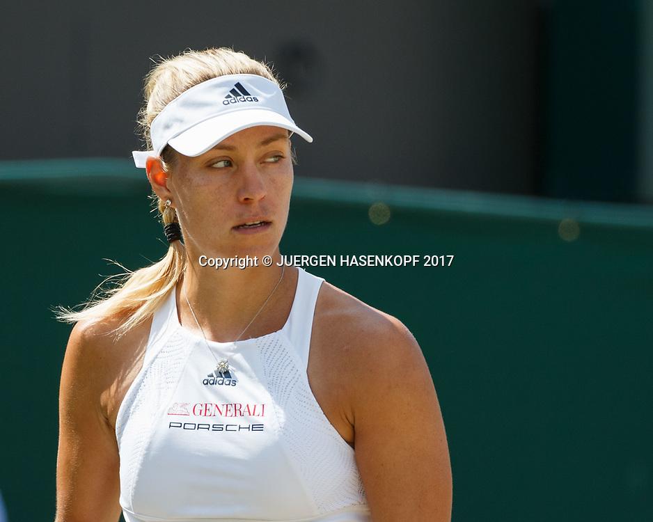 ANGELIQUE KERBER (GER)<br /> <br /> Tennis - Wimbledon 2017 - Grand Slam ITF / ATP / WTA -  AELTC - London -  - Great Britain  - 10 July 2017.