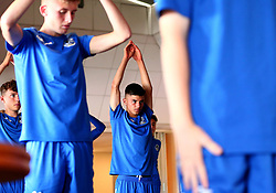 Lucas Tomlinson of Bristol Rovers Academy takes part in a yoga session at training - Mandatory by-line: Robbie Stephenson/JMP - 13/07/2017 - FOOTBALL - Yate Outdoor Sports Complex - Yate, England - Bristol Rovers Youth Team Portraits