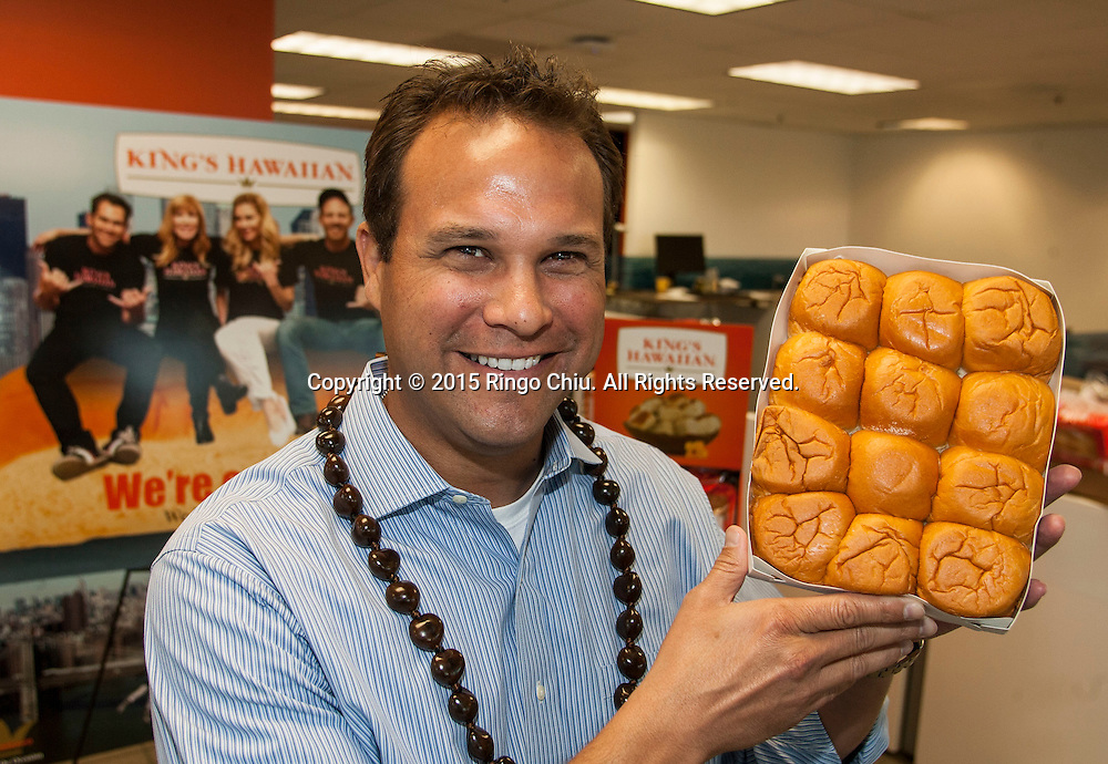 Erick Dickens, vice president, business development for King&rsquo;s Hawaiian.<br /> (Photo by Ringo Chiu/PHOTOFORMULA.com)