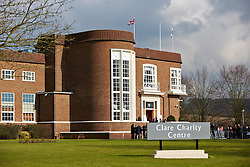 © Licensed to London News Pictures.  19/03/2013. SAUNDERTON, UK. The Duke and Duchess of Cambridge, William (not pictured) and Kate (not pictured) arrive at the Clare Centre in Saunderton to visit the offices of charity Child Bereavement UK. Photo credit :  Cliff Hide/LNP