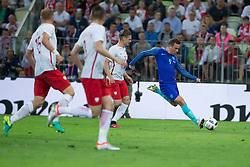01-06-2016 POL: Polen - Nederland, Gdansk<br /> Oefenwedstrijd dat met 2-1 wordt gewonnen / incent Janssen (Holandia)<br /> <br /> <br /> ***NETHERLANDS ONLY***
