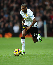 Manchester United's Ashley Young  - Photo mandatory by-line: Joe Meredith/JMP - Mobile: 07966 386802 - 20/12/2014 - SPORT - football - Birmingham - Villa Park - Aston Villa v Manchester United - Barclays Premier League