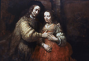 The Jewish Bride' (c1667-1668)  Rembrandt van Rijn (1606-1669) Dutch artist.