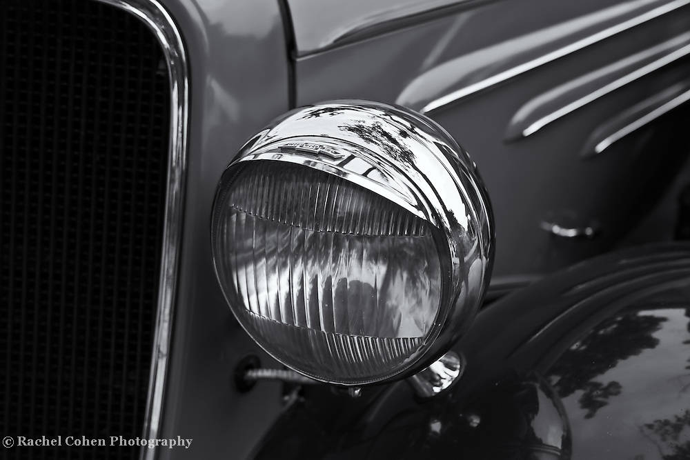&quot;1934 Chevrolet&quot; mono<br /> <br /> Beautiful vintage Chevrolet workmanship in this 1934 model. Done in monochrome for a striking classic affect!!<br /> <br /> Cars and their Details by Rachel Cohen