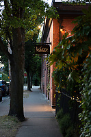 Il Covo Restaurant is tucked into a quiet street in James Bay, near downtown Victoria , BC.