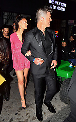 Robin Thicke and fiancé April Love Geary were spotted leaving Diana Ross's 75th Birthday Celebration in Hollywood, CA. 27 Mar 2019 Pictured: Robin Thicke and fiancé April Love Geary were spotted leaving Diana Ross's 75th Birthday Celebration in Hollywood, CA. Photo credit: Marksman / MEGA TheMegaAgency.com +1 888 505 6342