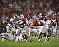 at Bryant-Denny Stadium in Tuscaloosa, Ala.  on Saturday, October 16, 2010. Alabama won 23-10.