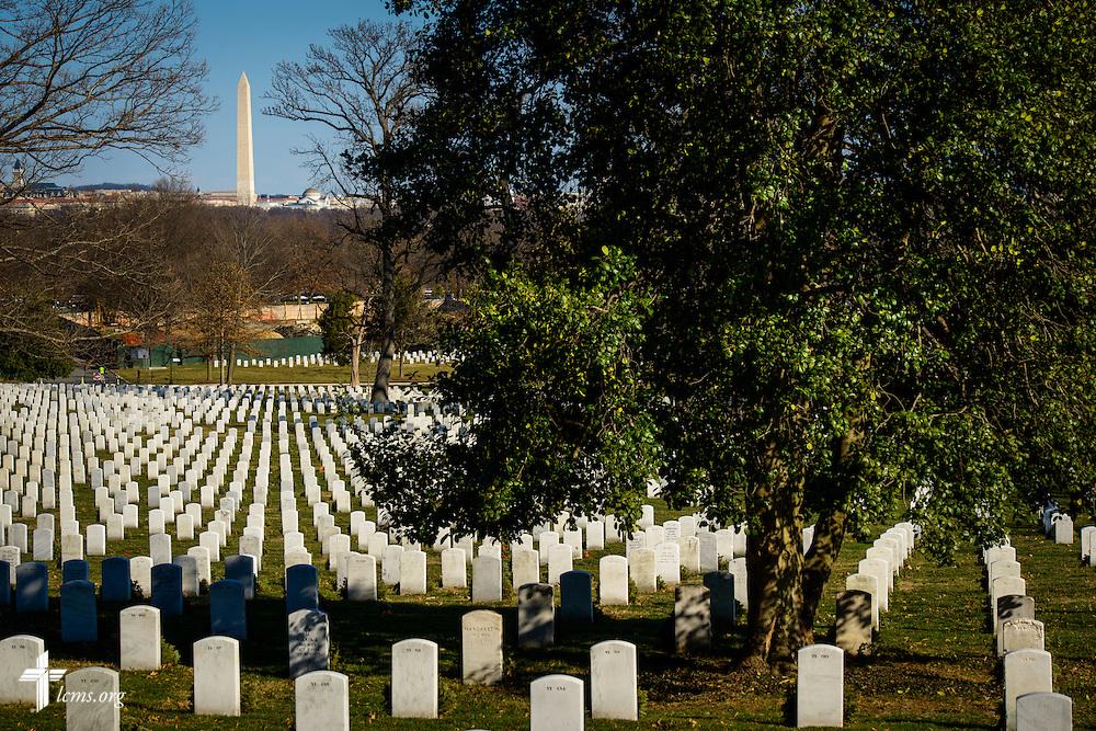 Arlington National Cemetery on Thursday, Jan. 26, 2017, in Arlington, Va. LCMS Communications/Erik M. Lunsford
