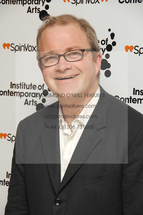 HARRY ENFIELD at 'Figures of Speech' a fundraising gala dinner in aid of the ICA held at the Lawrence Hall, Greycoat Street, London on 27th February 2008.<br /><br />NON EXCLUSIVE - WORLD RIGHTS