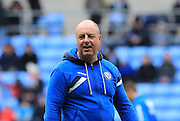 Keith Hill during the Sky Bet League 1 match between Coventry City and Rochdale at the Ricoh Arena, Coventry, England on 5 March 2016. Photo by Daniel Youngs.